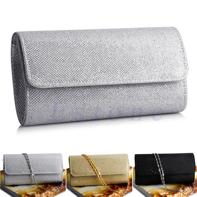 Silk Hasp Closure Socialite Bridal/Wedding/ Evening Party Clutch Purse