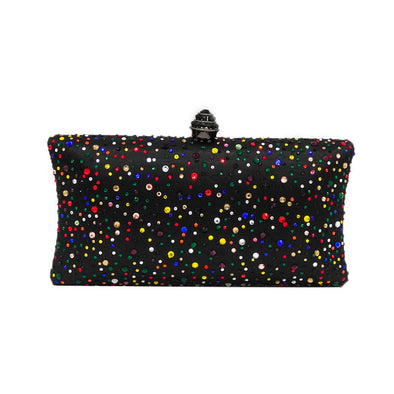 Sparkling Satin Single Strap Bridal/Wedding/ Evening Party Clutch Purse-MultiColor