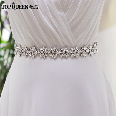 Rhinestones Crystals Wedding Belts