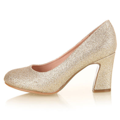 Gold Women Wedding Shoes