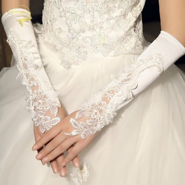 Bride Gloves long design wedding gloves
