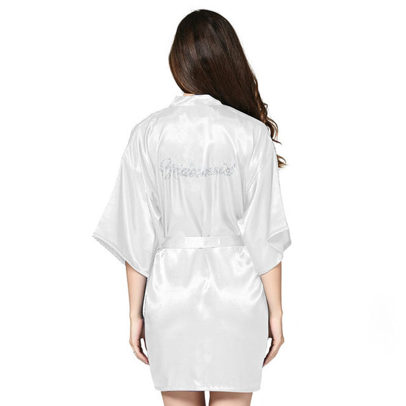 Wedding Bride Women Sleepwear nightwear
