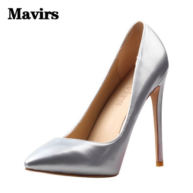 Women Wedding Pumps with thin  Heels