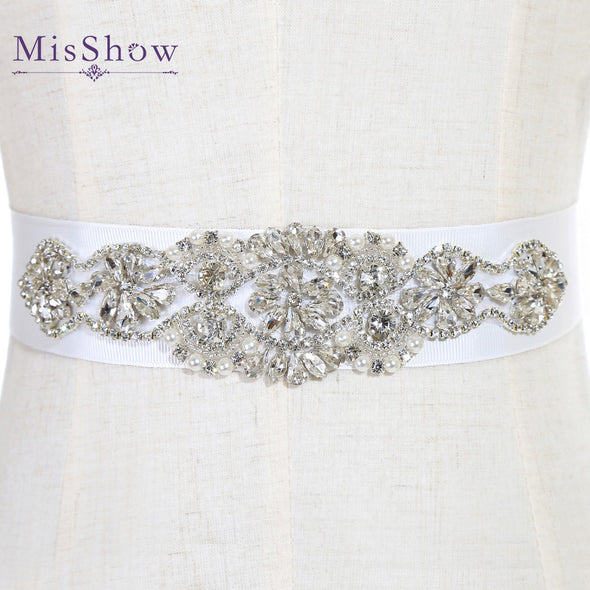 Rhinestone Belts For Wedding Dresses Wedding Belts