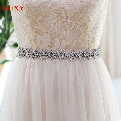 Wedding Belts  with  Crystal Rhinestone