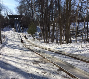 WATCH: Top Secret Toboggan Run in Michigan