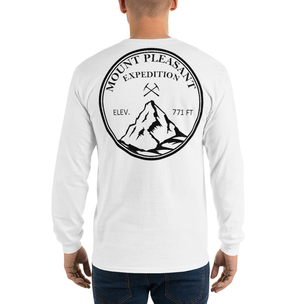 Mount Pleasant Michigan Expedition Long Sleeve Shirt - The Great Lakes T Shirt, Apparel, and Clothing Company