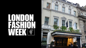 London Fashion Week Show  Invitation