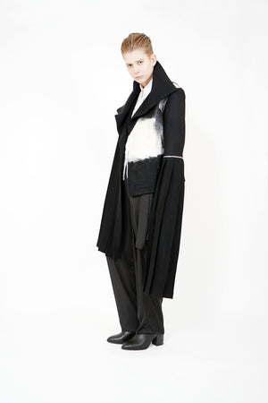 Detachable Sleeves Jacket