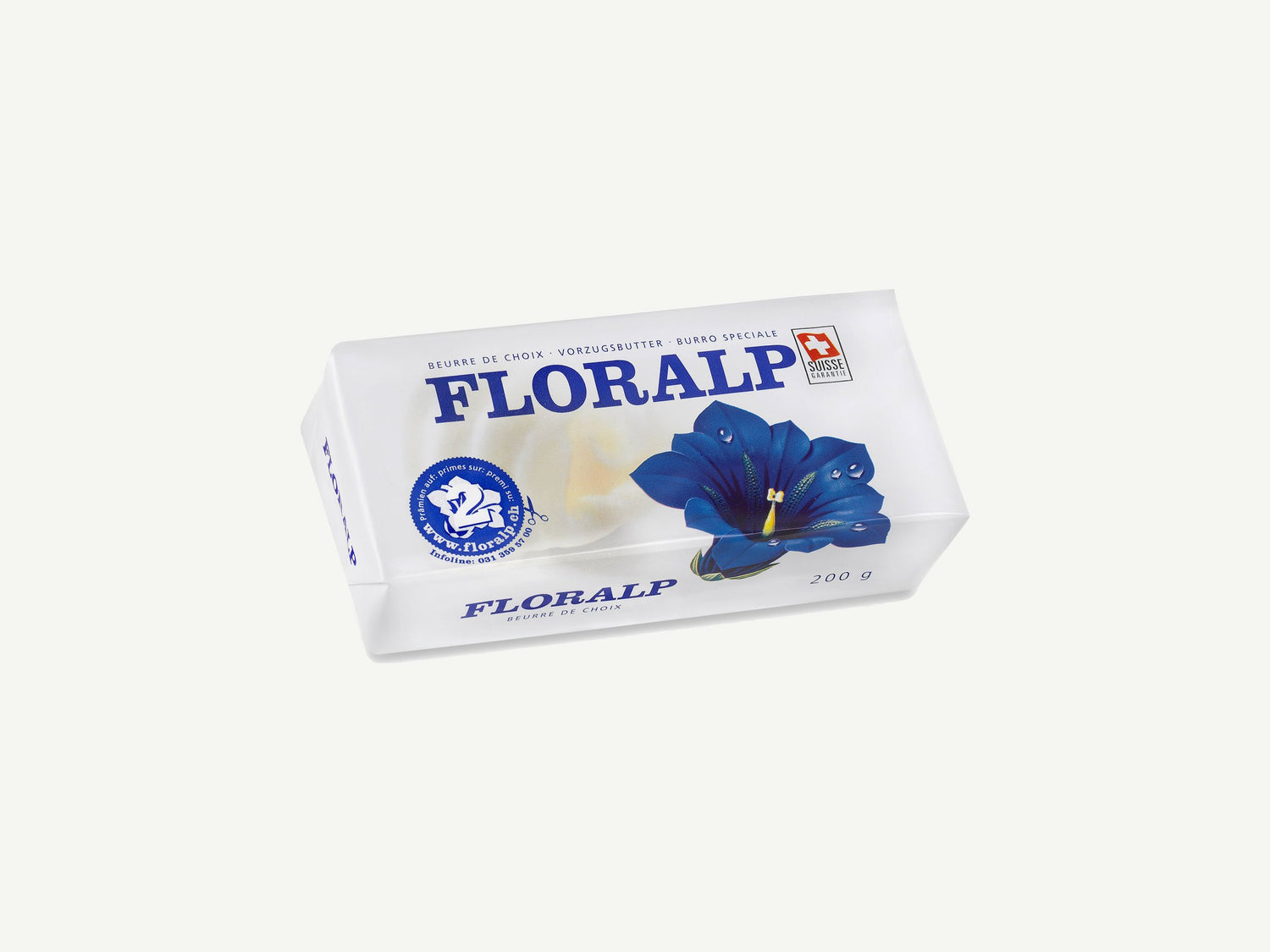 Earlybird Food AG | Butter 200g Floralp