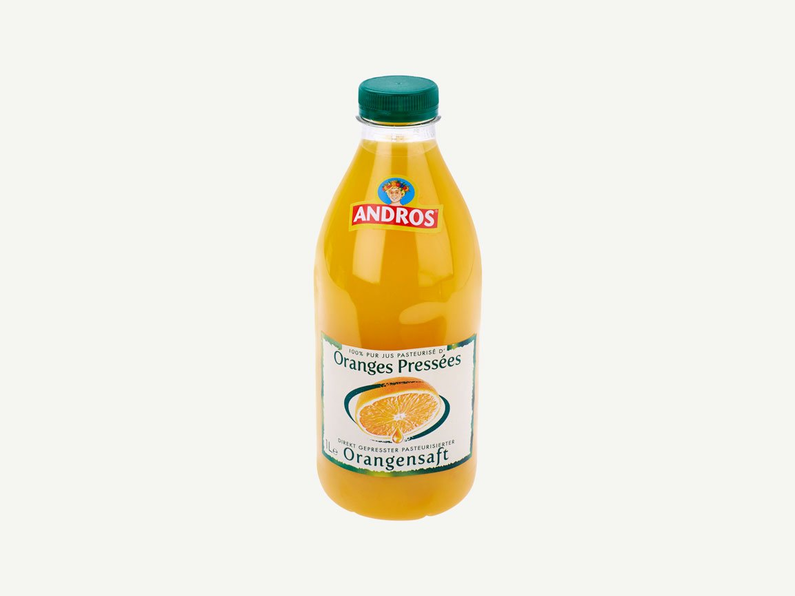 Earlybird Food AG | Andros Orangensaft Blond 1L