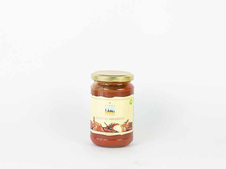 BIO Sugo all' Arrabiata 290g