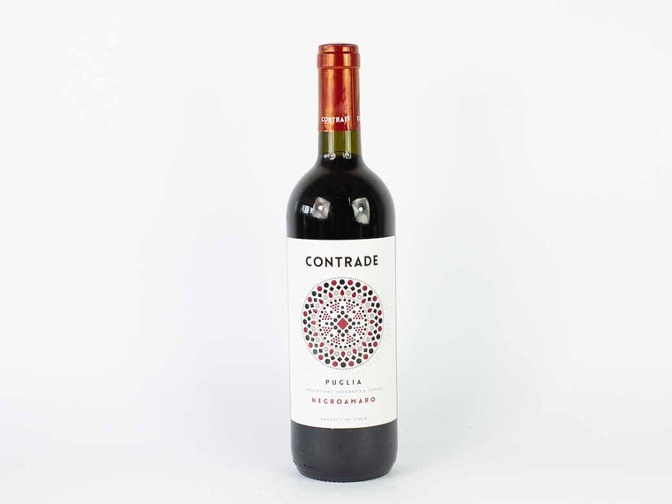 Rotwein Contrade Negroamaro IGT 0.75L