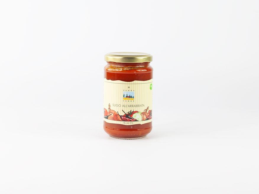 Earlybird Food AG | BIO Sugo all'arrabbiata  290 g