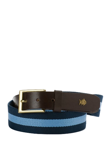 Southern Tide Classic Surcingle Belt in Navy