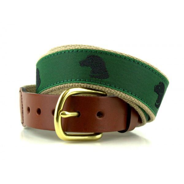 Dog Belt by The Leather Man LTD from THE LUCKY KNOT