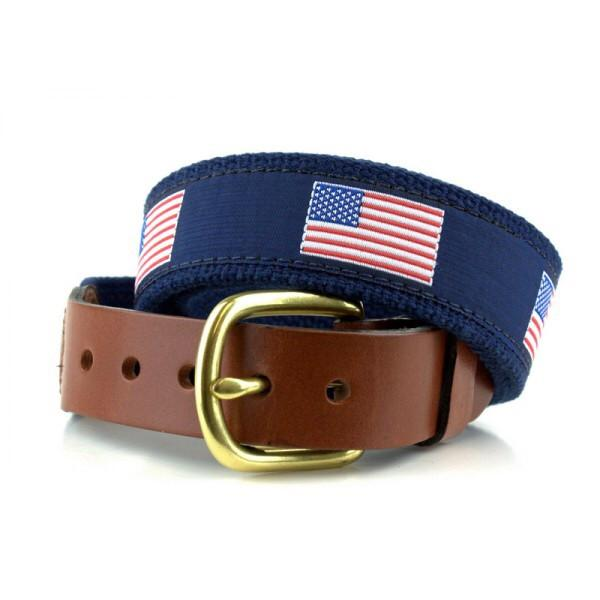 USA Flag Belt by The Leather Man LTD from THE LUCKY KNOT