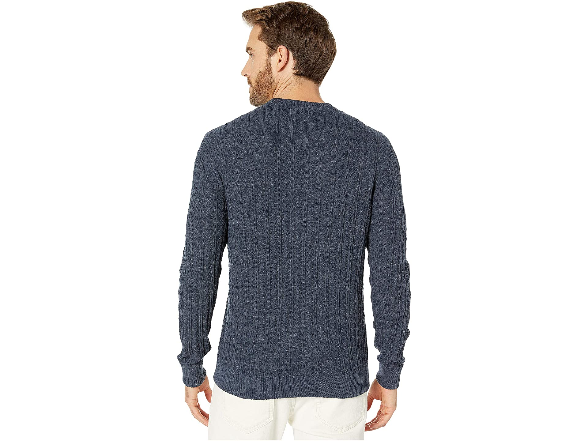 Southern Tide Perry House Cable Crew True Navy