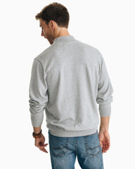 Southern Tide Pacific Highway 1/4 Zip Seagull Grey