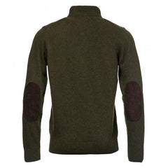Barbour Patch Half Zip Seaweed