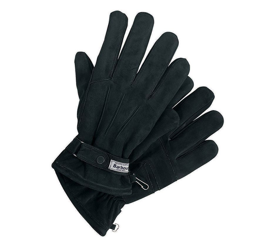 Barbour Leather Thinsulate Glove Black