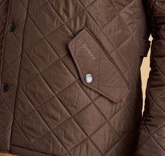 Barbour Powell Quilted Jacket - Olive