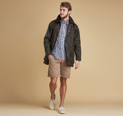 Barbour Classic Beaufort Wax Jacket - Olive