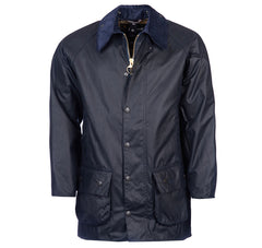 Barbour Beaufort Wax Jacket - Navy