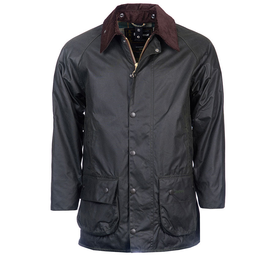 Barbour Beaufort Wax Jacket - Sage