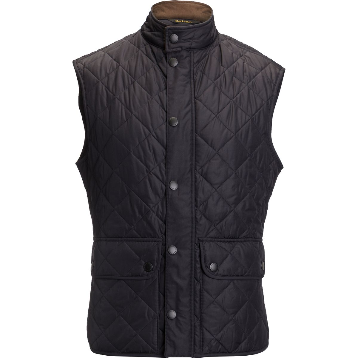 Barbour Lowerdale Quilted Vest Navy The Lucky Knot Men S