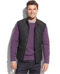 Barbour Lowerdale Quilted Vest-  Navy