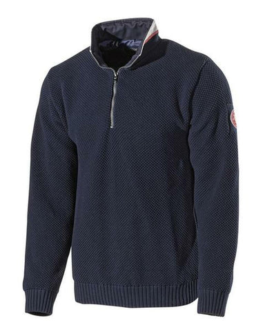 Holebrook Classic Wind Proof 1/4 Zip Navy
