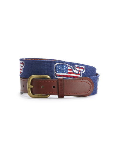 Smathers & Branson With Vineyard Vines American Whale Belt