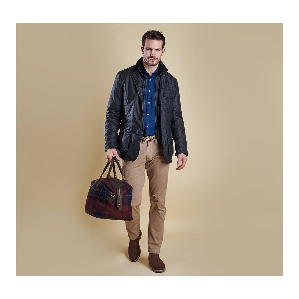 Barbour Torridon Wax Jacket - Navy