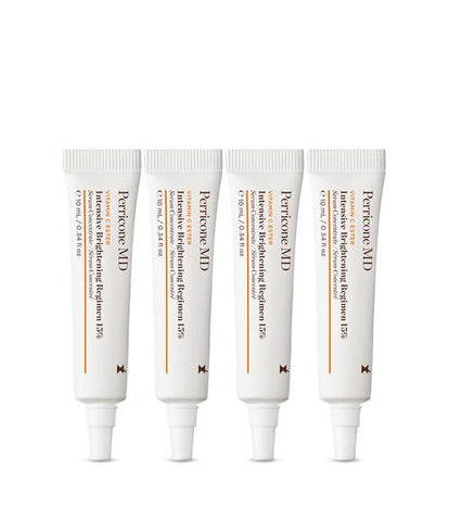 VITAMIN C ESTER INTENSIVE BRIGHTENING REGIMEN 15%  (AL 15% 4 TUBOS 10ML C/U)