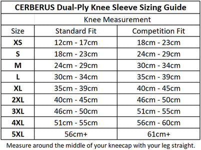 Dual-Ply Knee Sleeves (Pair)/To-lags knevarmere (par)