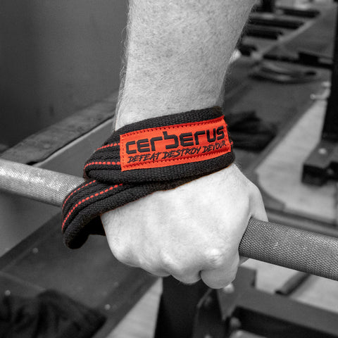 Image of Elite Figure 8 Lifting Straps/8-talls løftereimer
