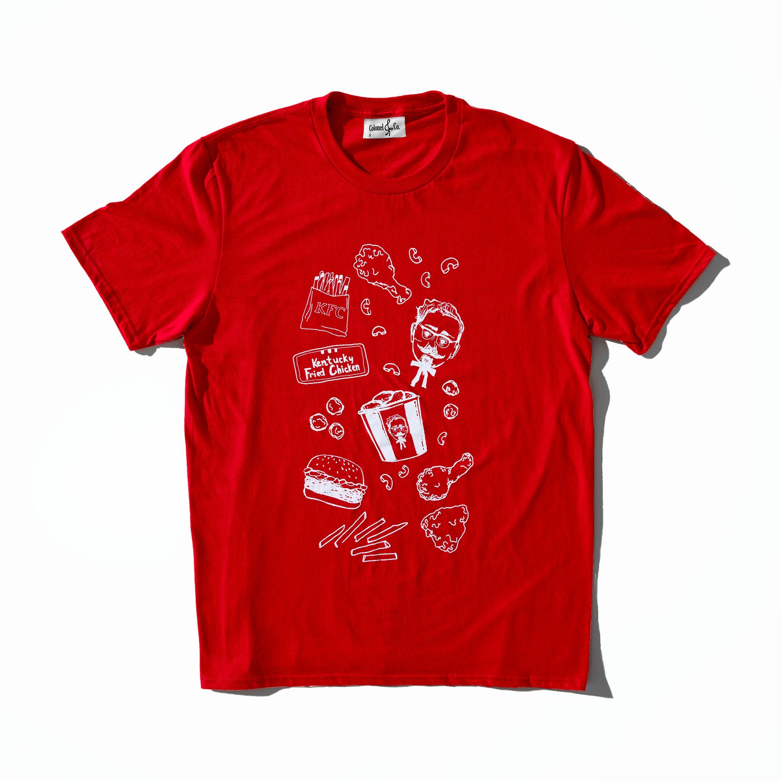 Chicken Scribble Tee