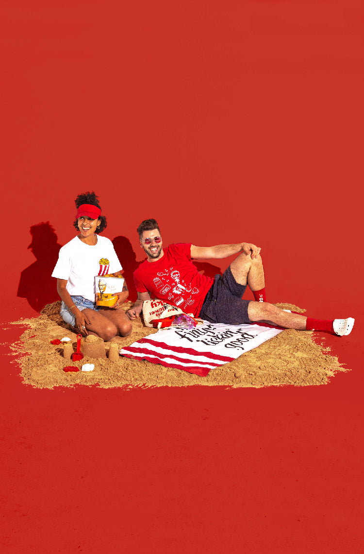 friends_on_beach_KFC_merch