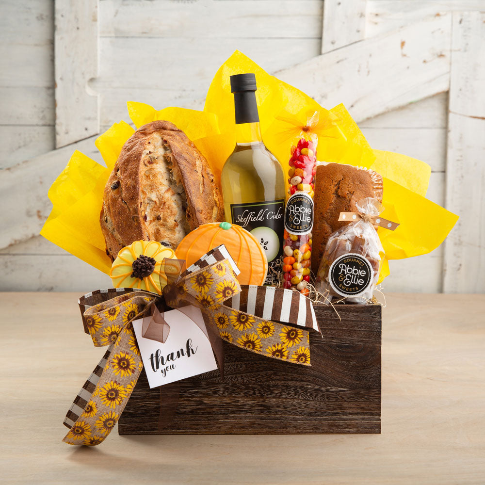 Autumn Thank You Gift Basket