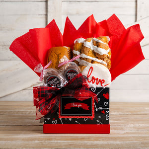 Hearts & Arrows Gift Basket