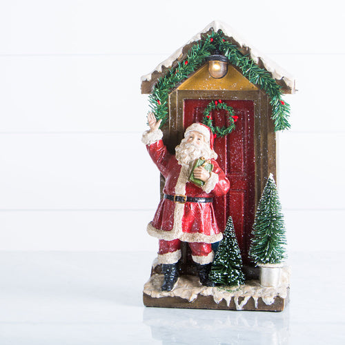 Santa Porch Figurine