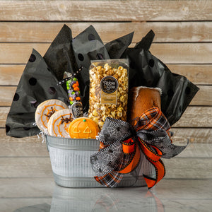 No Tricks, Just Treats Gift Basket