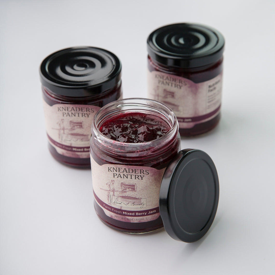 Kneaders Mixed Berry Jam - each