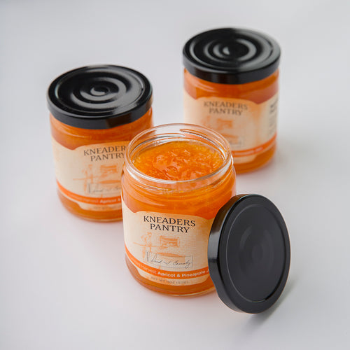 Apricot & Pineapple Jam - Box of 3