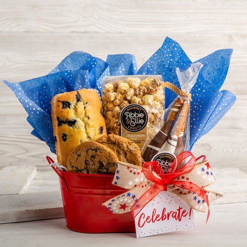 Celebrate Freedom Gift Basket