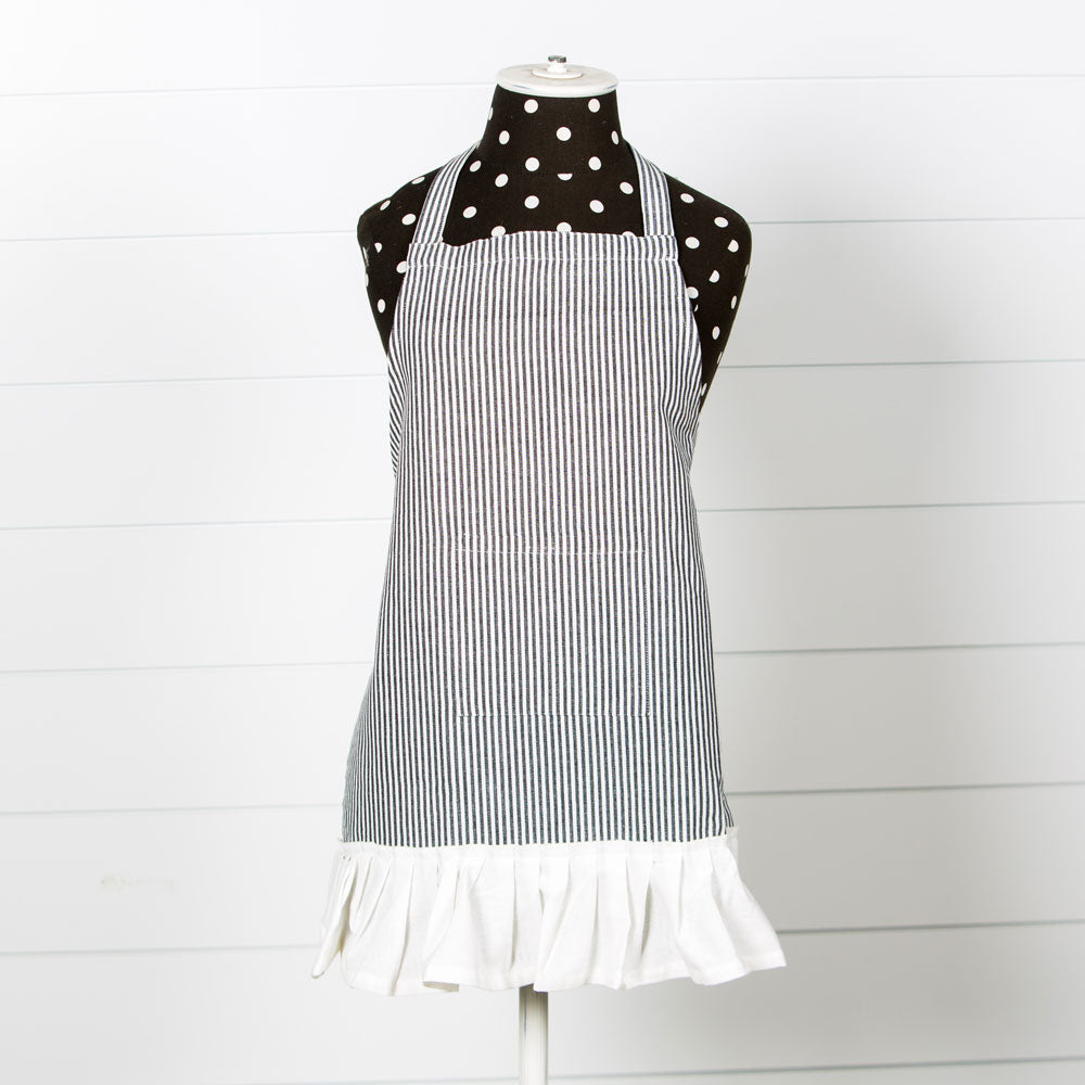 Child Farmhouse Pinstripe Apron