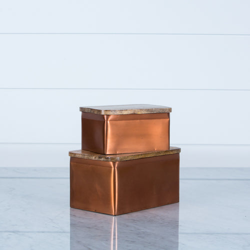 Copper Aluminum Box