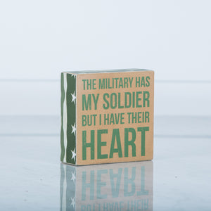 A Soldier's Heart Sign
