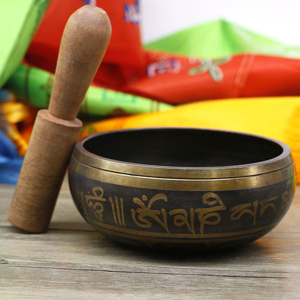 Helpful Home Decoration Yoga Tibetan Singing Bowl Himalayan Hand Hammered Chakra Meditation